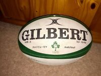 Gilbert Rugby Match Ball Ireland