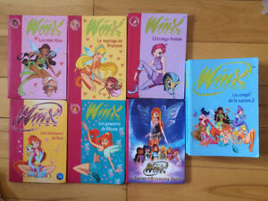 Collection livres Winx