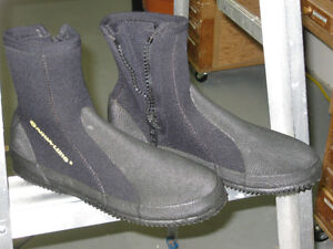 Zippered Dive Boots