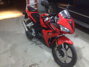 Absolutely mint condition, fuel injected Honda CBR 125R Peterborough Peterborough Area image 2