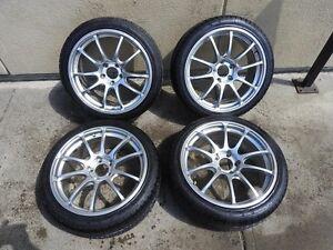 Subaru Wheels 5X100 HOT STUFF CROSS SPEED Comes With Winter Tire