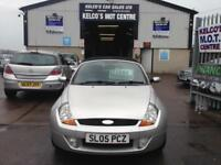 Ford Streetka 1.6 1599cc 2005.5MY