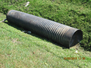 Wanted 18 in. diam. pipe for ditch,any length, used or new
