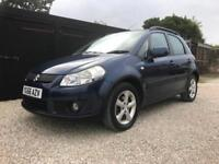 2006/56 Suzuki SX4 1.6 GLX,ONLY 65000 MILES,FULL SERVICE HISTORY WITH 8 STAMPS