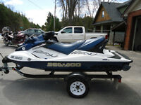 Seadoo 2005 GTX 185hp Supercharged 3 Seater/Reverse