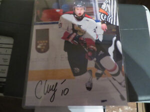 Halifax Mooseheads-Sergei Klyazmin Autographed Picture