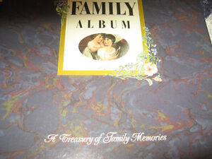 HARDCOVER FAMILY ALBUM BOOK NEW AND BOXED Kingston Kingston Area image 2