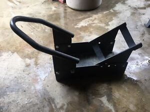 Motor cycle wheel stand