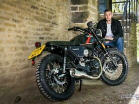 Hanway Scrambler 125cc Off Road Trials Dirt bike Crosser Style Motorcycle