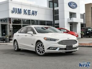 2017 Ford Fusion Energi Titanium  - one owner
