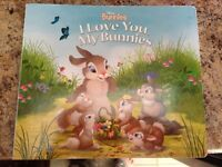 Large Disney Bunnies Board Book
