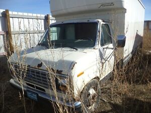 1990 ford cube van parting out or sell complete