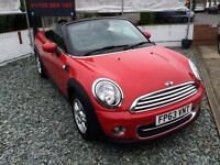 **COOPER CONVERTIBLE** 2013 MINI ROADSTER COOPER PETROL