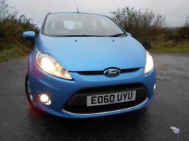 2010 60 FORD FIESTA 1.6 ZETEC TDCI 5D 94 BHP ** POUND;20 ROAD TAX , TURBO DIES