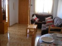 Costa Blanca, 2 bed, South facing, 1st floor apt, Feb-April £125 pw (SM072)