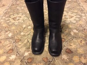 Harley Davison Riding Boots Size 8 Mens