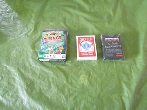 3 decks of playing cards
