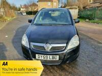 2010 Vauxhall Zafira 1.6 i 16v Exclusiv 5dr Petrol +ULEZ +7 Seats +Family Car