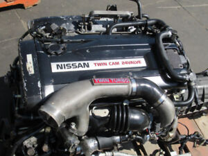 JDM NISSAN SKYLINE GTR R32 RB26DETT ENGINE AWD TRANSMISSION