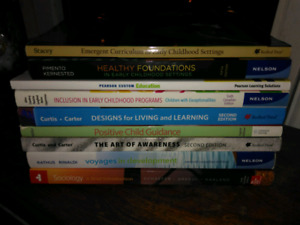 Early Childhood Education Text Books