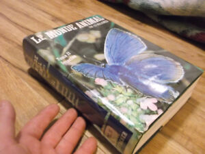 gros livre le monde animal tome 2 les insectes Grzimek fontaine