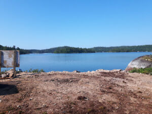 CLEARED LAKEFRONT LOT ON LAKE CHARLOTTE