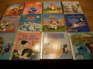"Collection of ""a Little Golden Book"" St. John's Newfoundland image 1"