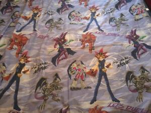 Vintage Original Yu Gi Oh Flat Sheet