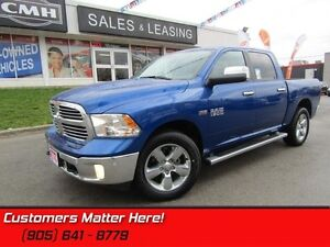 2016 Ram 1500 SLT   BIG HORN, HEMI, 4X4, 10 WAY POWER SEATS!