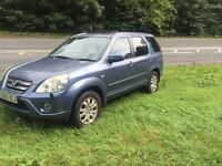 2005 Honda CR-V executive sat NAV F/S/H 2.2 diesel 1 year mot excellent condition price reduced