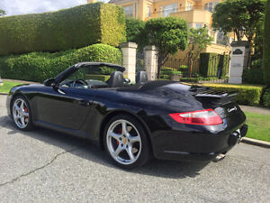 2006 Porsche 911S Black Convertible -- Carrera 2S
