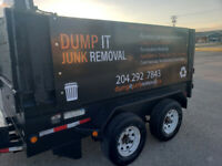 DUMP IT JUNK REMOVAL  garbage removal      204 292 7843