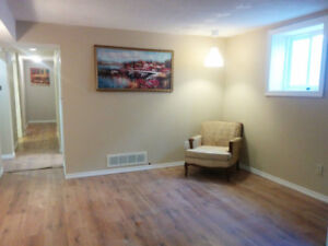 Newly Reno'd legal 3+1 bedroom Basement unit WHITBY DOWNTOWN