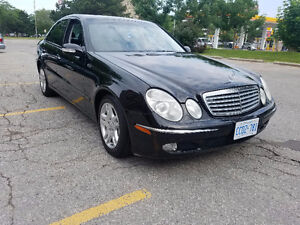 2003 Mercedes-Benz E-Class e500 Sedan fully loaded cert e test