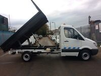 MERCEDES SPRINTER 311 CDI TIPPER ON 59 PLATE VGC IN & OUT, DRIVES VERY WELL, FIRST TO C WILL BUY IT