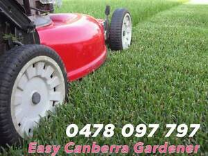 Easy Canberra Gardener Ainslie North Canberra Preview
