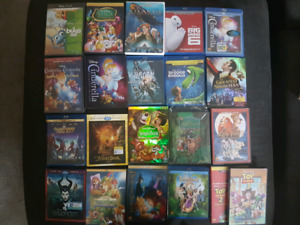 Huge Disney Movie Sale.  Large selection New and used.