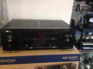 """sold""  Denon Receiver with Bluetooth Streaming-Model AVR-S510BT"