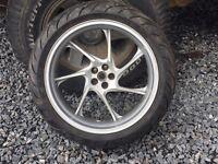 Honda VFR wheel 2012 model