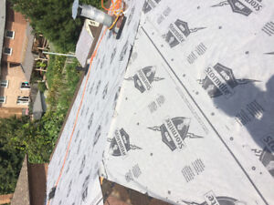 Step-up roofing