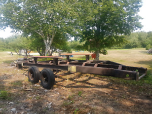 Boat trailer and winch