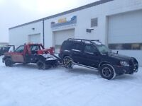 Towing, boosting and scrap car/truck  removal service