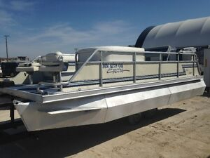 1995 Ercoa 20ft pontoon