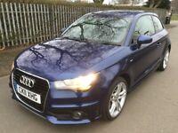 Audi A1 1.6 TDI S line 105PS Good / Bad Credit Car Finance (blue) 2011