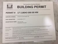 BUILDING PERMITS, ZONING, RESIDENTIAL, COMMERCIAL, LEGAL BSMTS