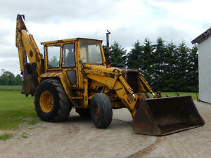 Looking for a MF70 or MF80 Industrial Backhoe London Ontario image 1