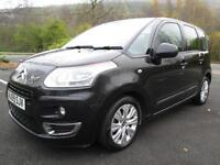 09/59 CITROEN C3 PICASSO 1.6 HDI VTR PLUS 5DR MPV IN MET BLACK