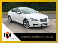 2012 JAGUAR XF 2.2 TD LUXURY AUTO SALOON LOW MILEAGE