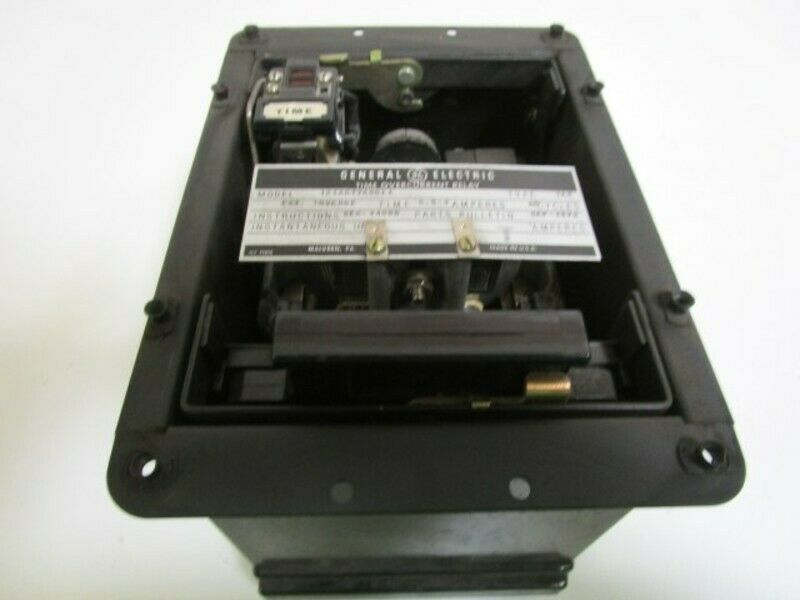 GENERAL ELECTRIC TIME OVERCURRENT RELAY 12IAC77A801A (AS PICTURED) * USED *