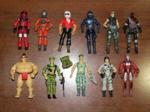 Vintage and Modern G. I. Joe Action Figure Lot